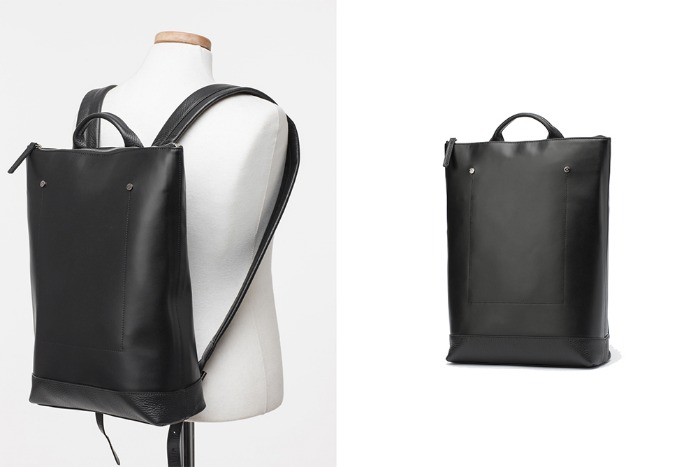 Vertical Easy backpack [black]